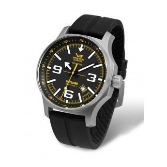 Reloj Vostok de Caballero con mecanismo de carga manual ¡Olvídate de cambiar la pila!  http://www.tutunca.es/reloj-hombre-47mm-caucho-vostok-north-pole-esfera-negra