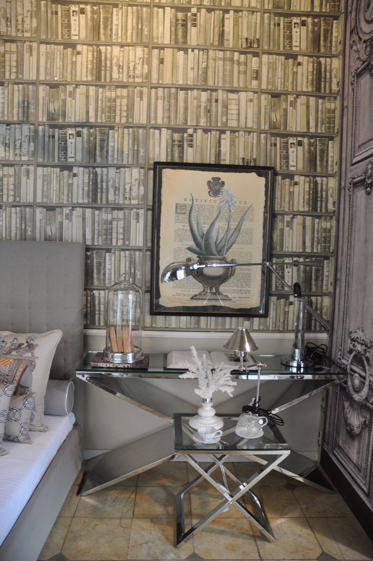 interior designer monica damonte andrew martin wall paiper