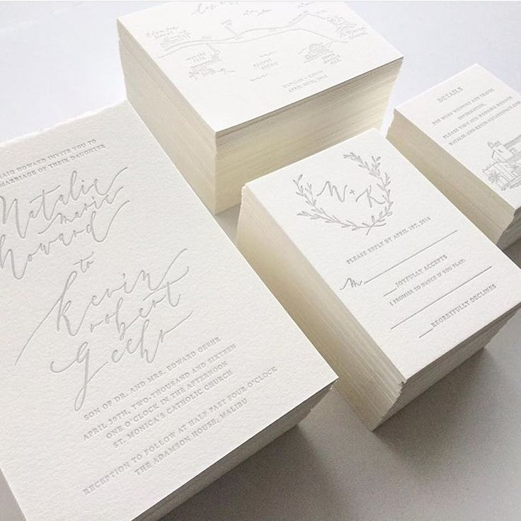 """""""#regram Of Beautifully Printed Wedding Invitations By The"""