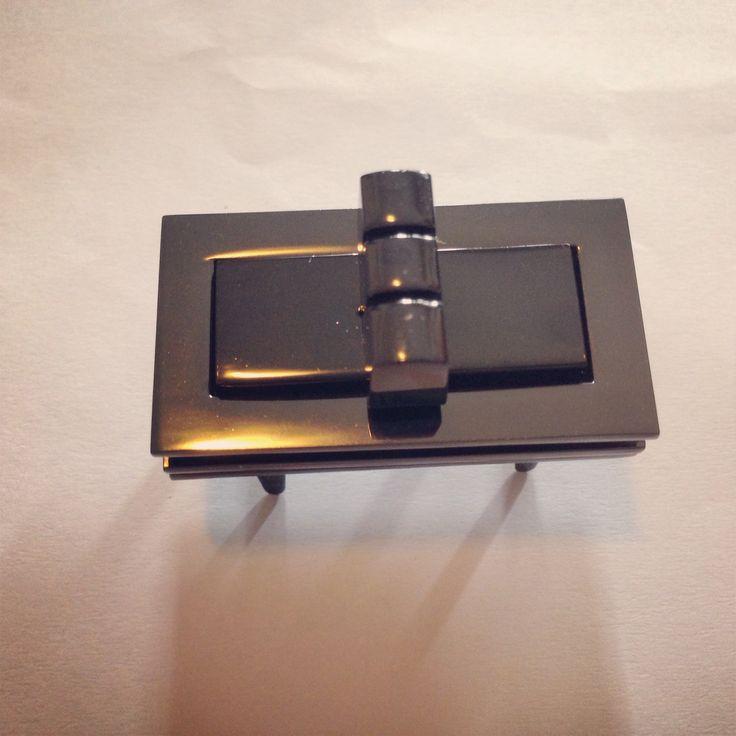 #GUNMETAL turn lock, gunmetal twist lock, decorative lock,# turn lock for purses and #bags, #purse closure, #lock  https://www.etsy.com/listing/197269214/gunmetal-turn-lock-gunmetal-twist-lock?ref=shop_home_active_6