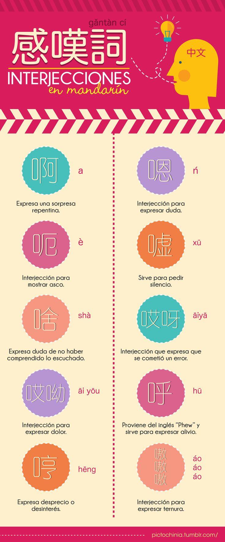 Interjecciones en chino