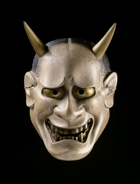 Japanese Noh Hannya mask - Hannya mask represents a female serpent-demon filled with malicious jealousy and hatred.