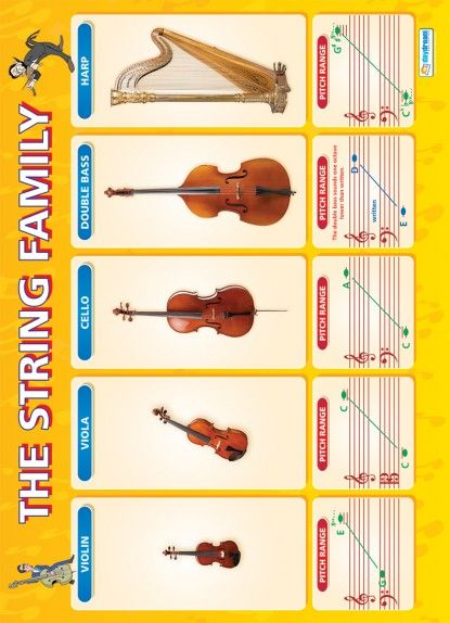 The String Family Poster A family of instruments for a Family of musicians?