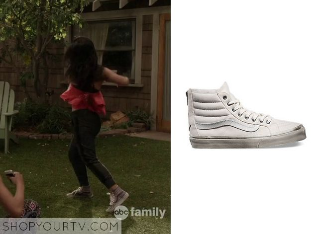 The Fosters: Season 2 Episode 12 Mariana's White Sneakers