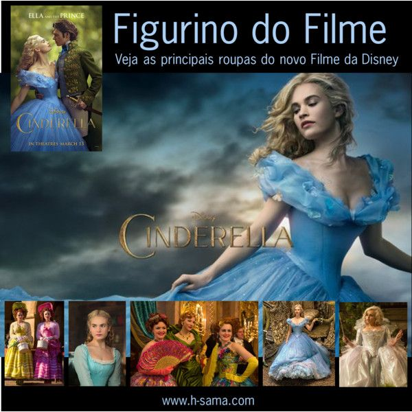 Cinderella Figurino do Filme by hsama on Polyvore featuring Disney