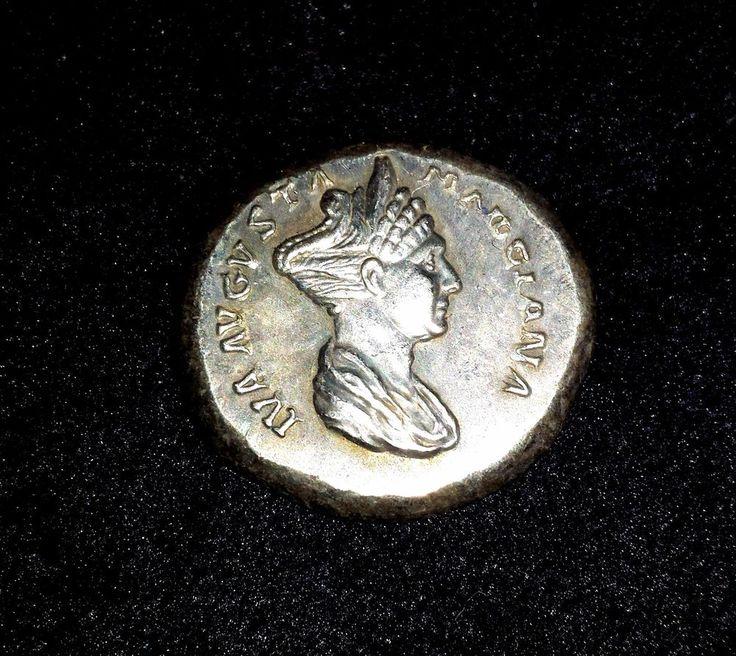 ROMA COIN DENARIO  MARCIANA AUGUSTA  CIRCA AD 105-112 BC,FAKE | eBay