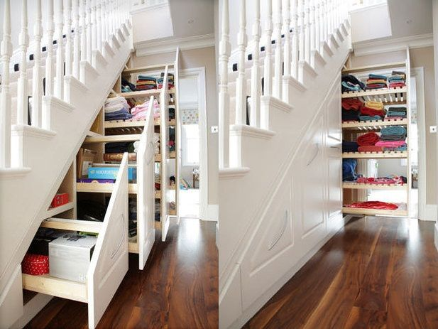 Use The Space Under Your Stairs