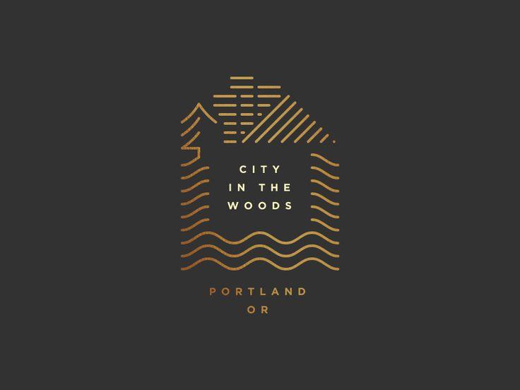 Dribbble - Portland by Jon Harvell