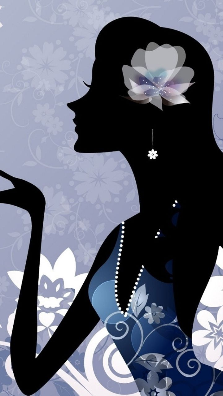 Image for Girly Figure iPhone 5 Wallpaper wallpapers