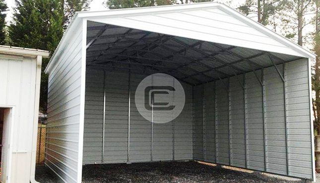 18x41 Vertical Style Rv Carport Steel Rv Cover For Sale In 2020 Rv Cover Rv Carports Vertical