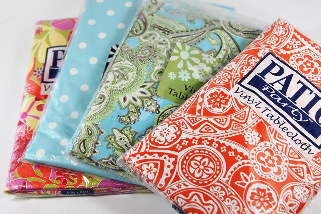Vinyl Tablecloth Roll Up Diaper Changer Tutorial And
