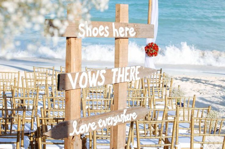 "CBS122 Riviera Maya Weddings bodas / ""SHOES HERE, VOWS THERE , LOVE EVERYWHERE "", Letrero / Sign"