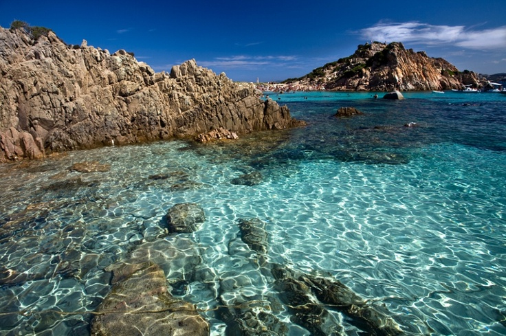 La Maddalena Archipelago, I highly recommend hiring a boat and visiting these magnificent Islands which include the pink sanded Budelli and Isola Caprera. A truly wonderful day out http://www.parks.it/parco.nazionale.arcip.maddalena/Eindex.php