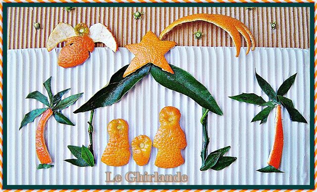Le Ghirlande: Bucce natalizie