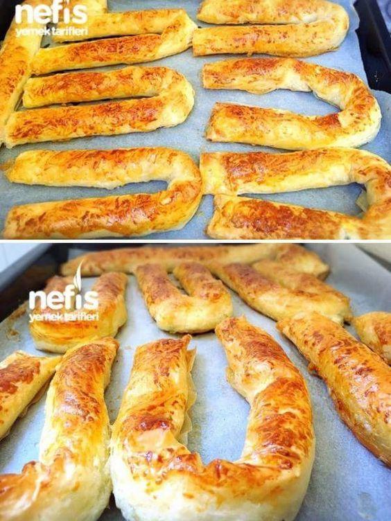 Sarıyer Böreği (Baklava Yufkasıyla) Malzemeler 9 adet baklava yufkası 75 gram margarin(eritilecek) 1 çay bardağı su Üzerine sürmek için ; Yumurta sarıs... - yahsi mutfak - Google+