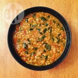Zupa warzywna z pęczakiem @ allrecipes.pl