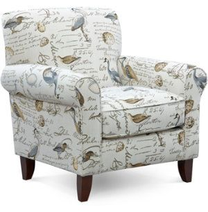 He Tight Back Construction Of The Birdsong Accent Chair
