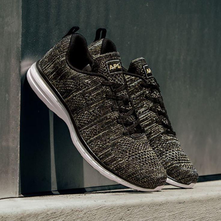 APL Shoes | Apl Techloom Pro Metallic Running Shoes | Color: Black | Size: 9