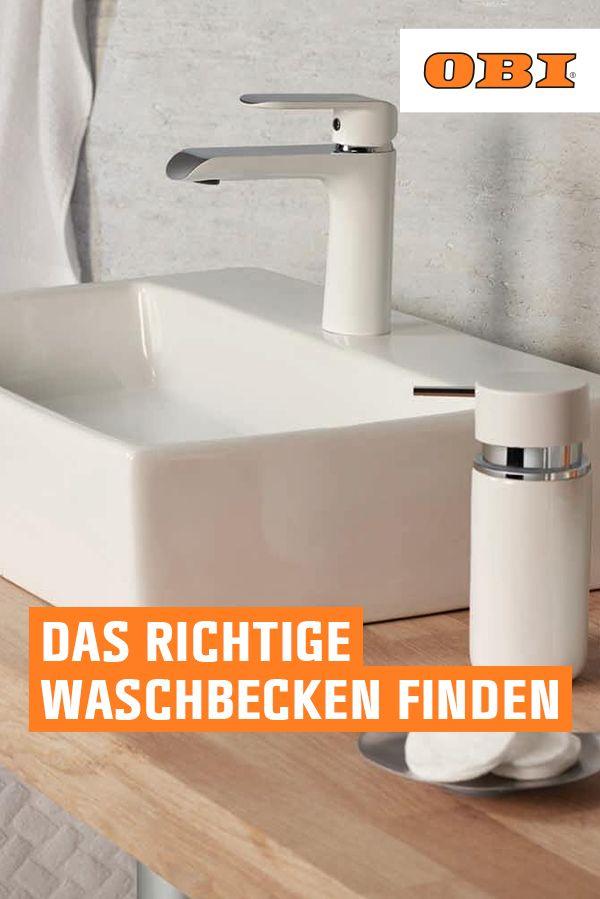 Waschbecken Im Uberblick Materialien Und Arten Obi Waschbecken Waschbecken Ohne Hahnloch Waschbecken Armaturen