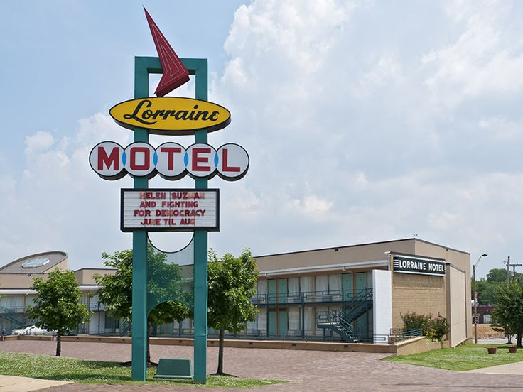 National Civil Rights Museum at the Lorraine Motel. Photo by Stephen Saks/Getty Images. #Memphis #USA