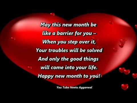 Happy New Month Blessings & Prayers Wishes,Quotes,Sms,Greetings,Whatsapp Video - YouTube