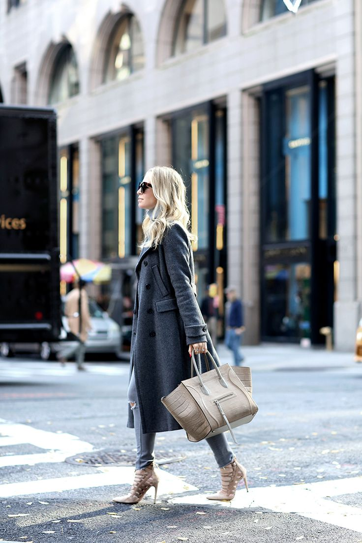 Upper East Side by Brooklyn Blonde - Coat: Theory | Turtleneck: Pine Cashmere | Denim: H&M | Shoes: Aquazzura | Sunglasses: Celine | Bag: Celine Phantom December 23, 2016