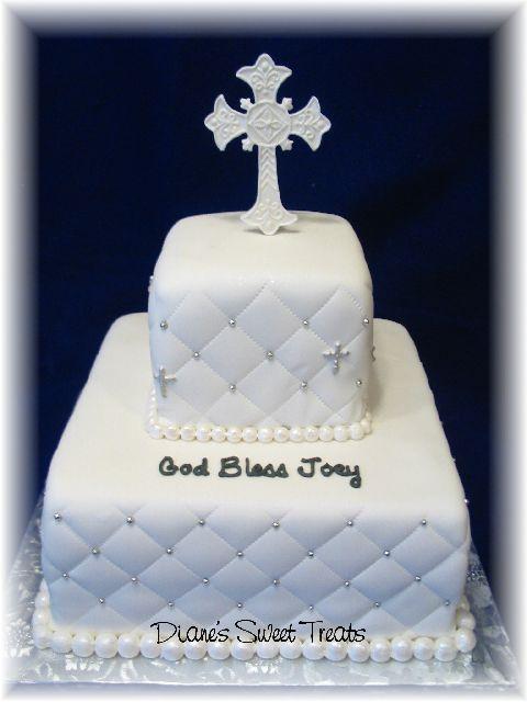 confirmation cake for Stu