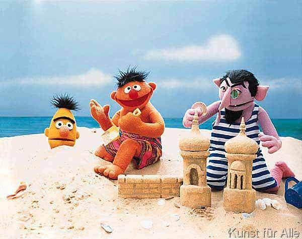 Sesamstraße - Spiele am Strand