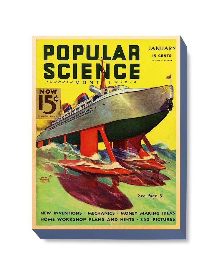 SFI 022 Popular Science January Ship