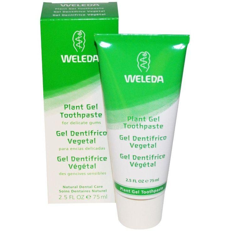 Buy Weleda Plant Gel Toothpaste, 75ml, 2.5 fl oz - Natural Supplement for sale in Cheapest Online supplements shop megavitamins in Gold Coast, Brisbane & across Australia.