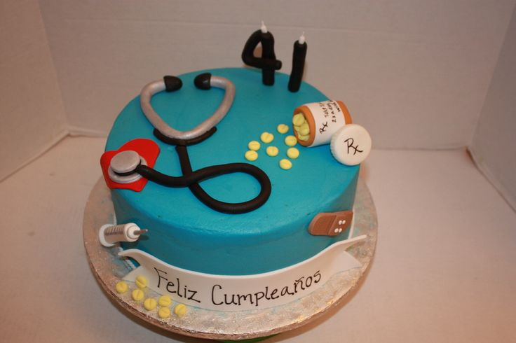 Birthday Cake Images For Doctors : 17 Best images about Fondant cake, toppers & cupcakes ...