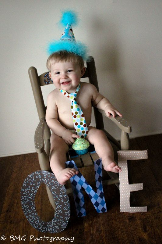 Birthday Outfit- Multi Polk a dot- Toddler Tie and Birthday Hat-Smash Cake Outfit - Holiday - 1st Birthday Outfit- Photography Prop
