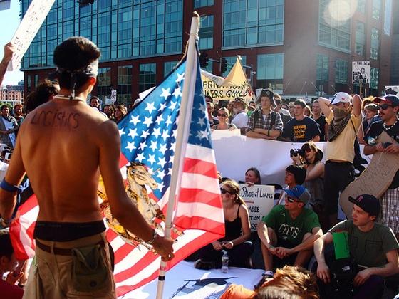 The Occupy Boston Globe by Occupy Boston Globe, via Kickstarter.