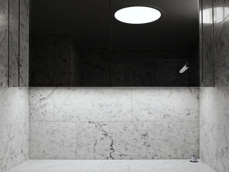 Bathroom lighting by Orbium at Ture8 in Stockholm. #lighting #led #design #ture8 #tureno8 #orbium