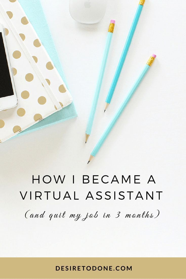 how i became a virtual assistant and quit my job in 3 months
