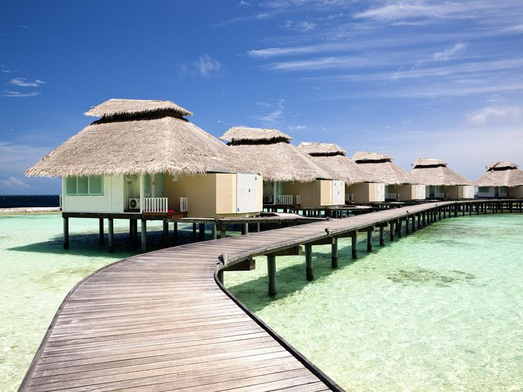 Amazing Beaches Holidays Resort Sea Wooden Port Lake Ho (to Get Full Size Image  Visit The Site)