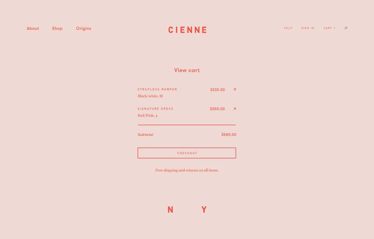 Cienne Website | Designed by Hugo & Marie in collaboration with Lotta Nieminen