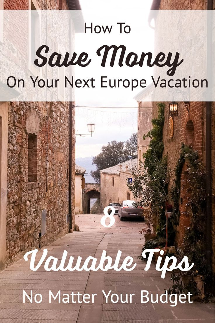 We all want to save money, right? No matter what our budget is we always feel better when we don't exceed it. Europe has a reputation for being an expensive travel destination, and of course, it can be, but it doesn't have to be.