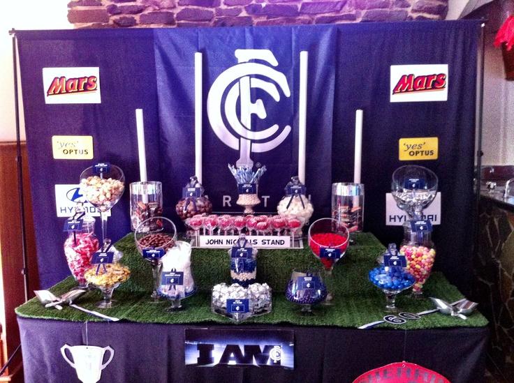 AFL - Carlton Football Club styled Buffet