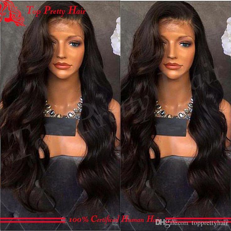 Black Body Wave Glueless Silk Top Lace Front Wigs Virgin Hair 4x4 Silk Base Full Lace Malaysian Wigs For Black Women Human Hair Natural Hair Wigs 100 Human Hair Wigs With Bangs From Topprettyhair, $172.47| Dhgate.Com