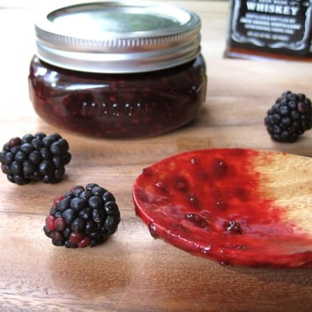 Vanilla Bourbon Blackberry Jam