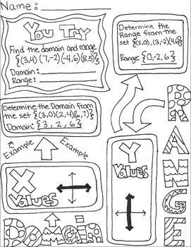 printable math worksheets domain and range mathworksheets4kids domain and range answers. Black Bedroom Furniture Sets. Home Design Ideas