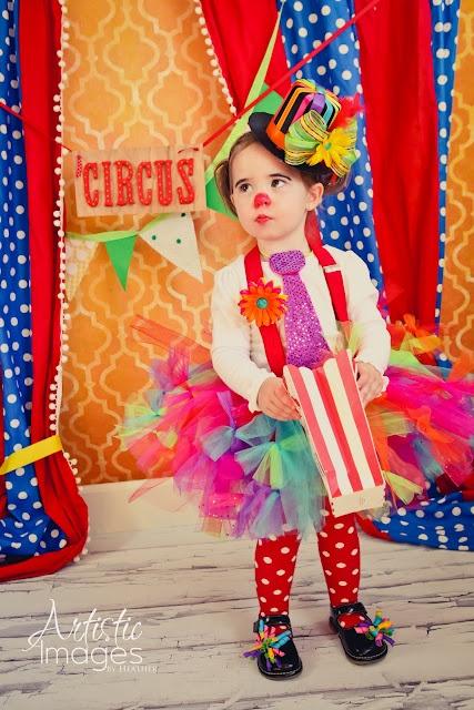 Circus baby clown