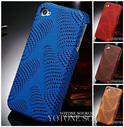 Waves Dots iPhone 4 Case