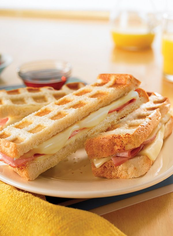Maybe it's just us, but we think pretty much anything is better when it's stuffed with Deli American. Like these bite-size waffle sticks.