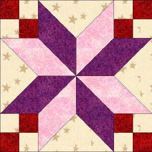 Star Quilt Blocks Free Patterns Quilters Corner Club