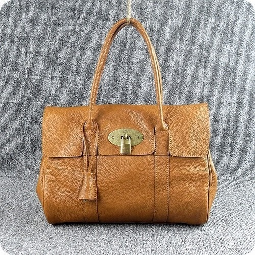 Exclusive Mulberry Bayswater Natural Leather Oak