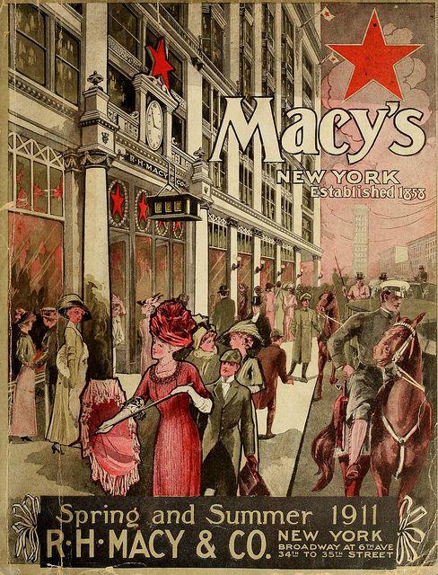 petitpoulailler:  bnreimels:mindmappingthelikes:1911 Macy's New York by kittensnroses on FlickrTumbleOn