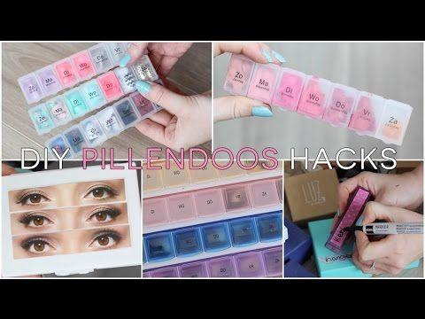 DIY ❤ Pillendoos hacks | Beautygloss