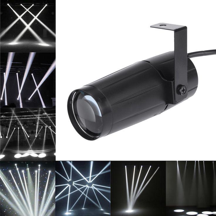 $18.99 (Buy here: https://alitems.com/g/1e8d114494ebda23ff8b16525dc3e8/?i=5&ulp=https%3A%2F%2Fwww.aliexpress.com%2Fitem%2FNEW-Total-5W-LED-White-Beam-Pinspot-Light-Spotlight-Super-Bright-Lamp-Mirror-Balls-DJ-Disco%2F32696403565.html ) NEW Total 5W LED White Beam Pinspot Light Spotlight Super Bright Lamp Mirror Balls DJ Disco Effect Stage Lighting for KTV DJ for just $18.99